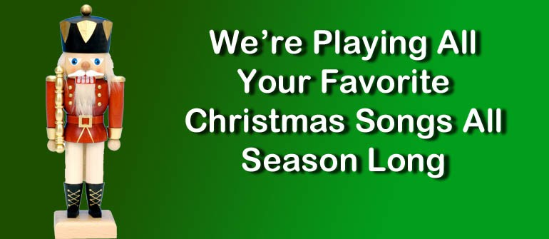 All Christmas Music. All Season Long